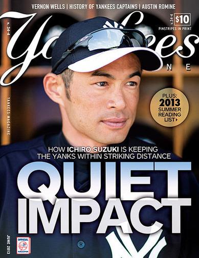 Yankees Magazine 2013年6月号表紙