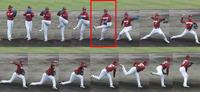 岩隈投手のフォーム