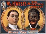 1900年のMinstrel Showのポスター