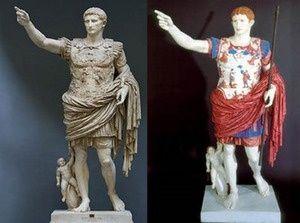実は色つきだったギリシア彫刻
