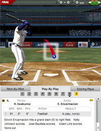 2012年4月28日 マリナーズ戦のエンカルナシオンの満塁ホームラン