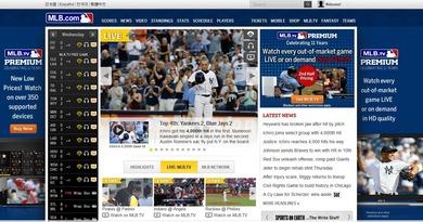 MLB公式サイト