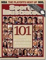 スポーツ・イラストレイテッド2003年5月5日号表紙