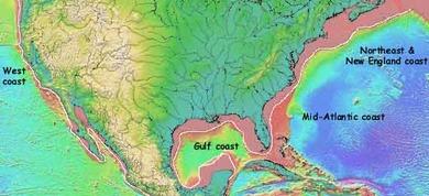 アメリカの大陸棚(更新画像)