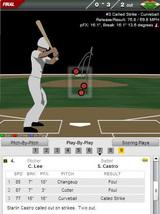 2010年6月23日 7回表1死2、3塁 カストロ三球三振