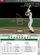2009年9月30日 7回 ハラデイ、オルティスを3球三振