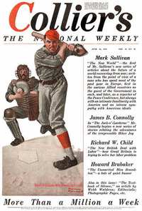 The Baseball Player by Norman Rockwell, Collier's June 28, 1919.