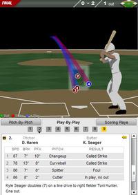 2011年8月31日 カイル・シーガー 二塁打 SEAvs.LAA