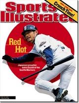 スポーツ・イラストレイテッド2001年5月28日号表紙