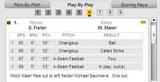 2009年8月27日 6回先頭打者マイアー