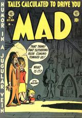 MAD創刊号の表紙 by ハーヴェイ・カーツマン