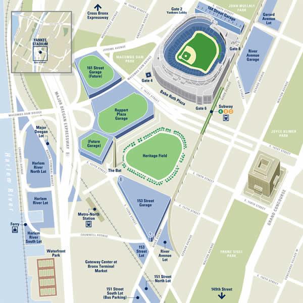 2013年6月1日、あまりにも不活性で地味な旧ヤンキースタジアム跡地利用。「スタジアム周辺の駐車場の採算悪化」は