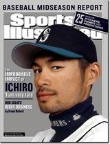 スポーツ・イラストレイテッド2002年7月8日号表紙