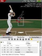 2010年6月23日 6回表2死1、2塁 ネイディ三球三振