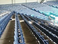 Seals Stadiumから移設されてきたCheney Stadiumの木製椅子