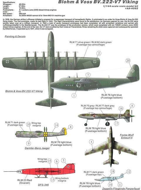 AA4092 BV-222 plan