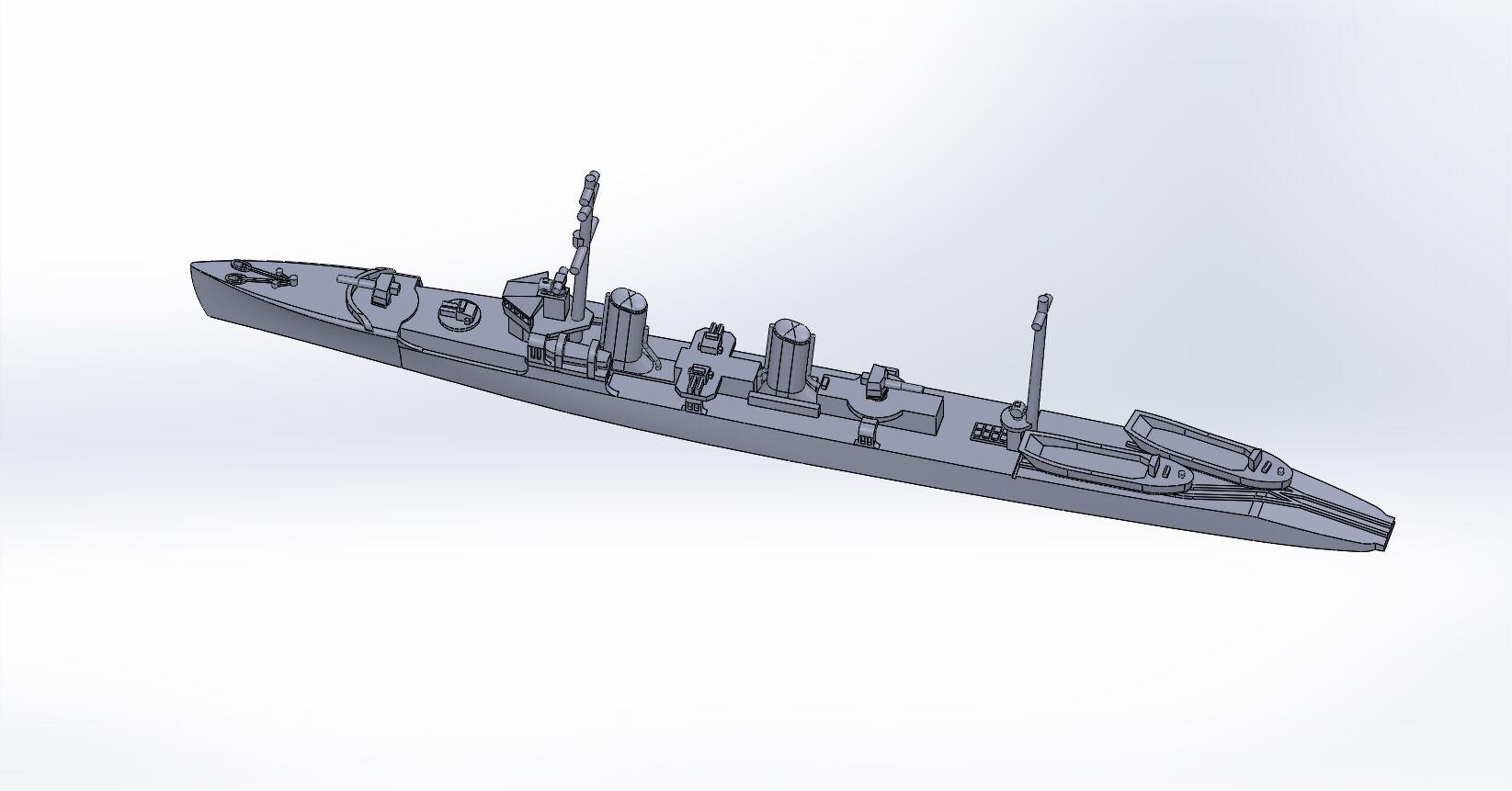 1/2000 第一号型哨戒艇 原型製作記 : DAMEYA@1/144
