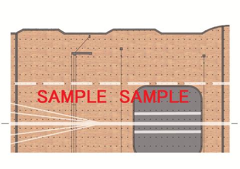 赤城飛行甲板印刷データ例 (1)