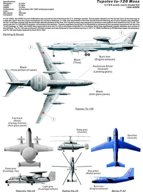 AA4006 Tu-126 plan