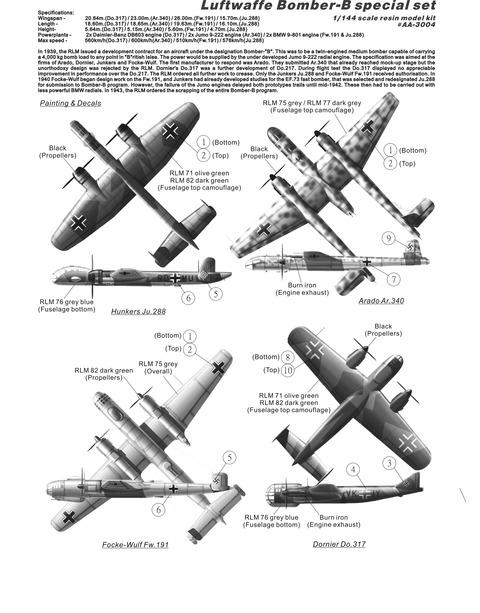 AA3004 Bomber-B plans