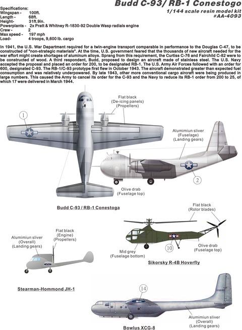AA4093 C-93 plan