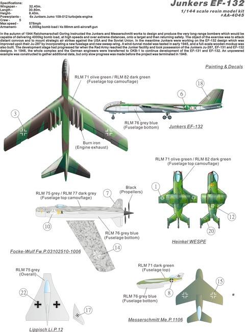 AA4045 EF-132 plan