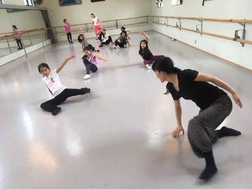 コンテンポラリーダンス講習会