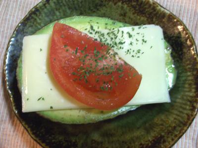 アボカドチーズ焼き2