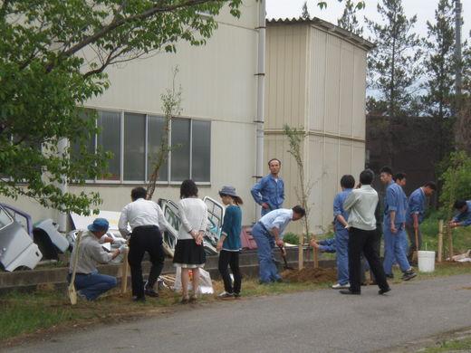 桜の植樹祭�