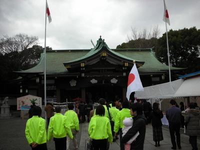 大阪護国神社 風景