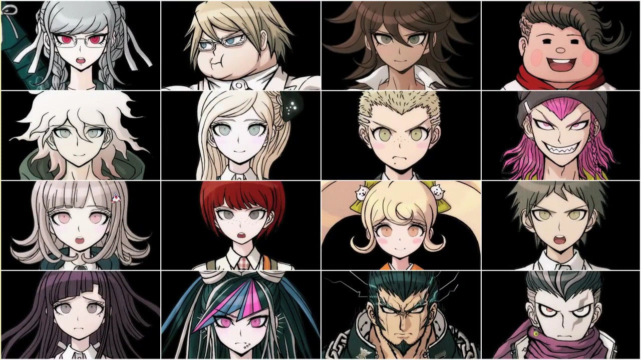 Danganronpa 3 Anime Characters :