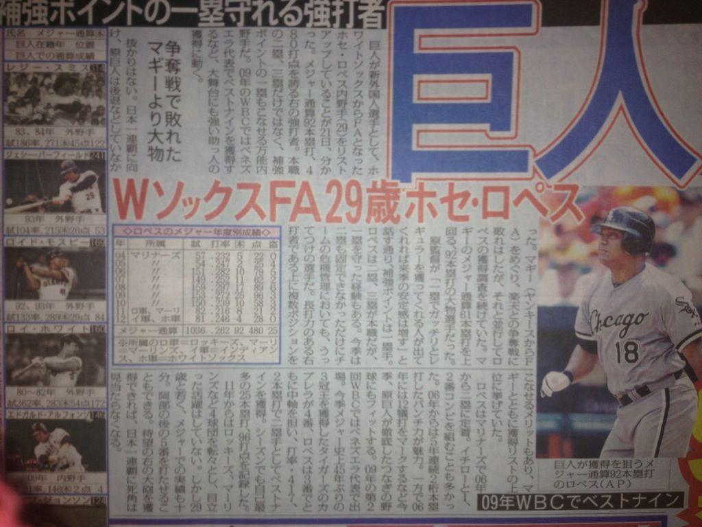 ホセ・ロペス (野球)の画像 p1_1