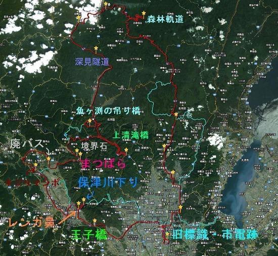 京都周遊ツアー地図_当日