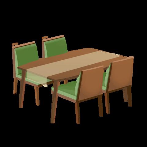 2767きれいなダイニングテーブルセット