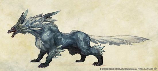 FFXIV-Monster-Fenrir