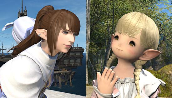 【FF14】拡張で実装される4つの新髪型が公式ブログにて公開!三つ編みおさげが可愛すぎる・・・!