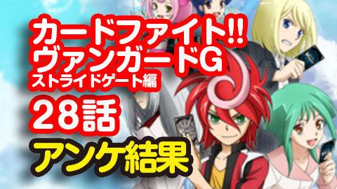 【カードファイト!! ヴァンガードG】28話 ニコ生アンケ とても良かった87.6%「明神リューズ」