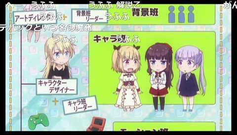 「NEW GAME!」2話6