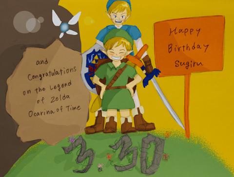 すぎる、ゲーム実況完結とともに誕生日を迎える!【時のオカリナ】