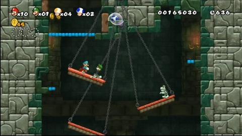 えんもち蹴落としマリオ4