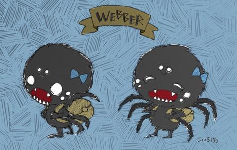 かわいさの中に狂気が見える? こいろ(5)が描いたドンスタの蜘蛛