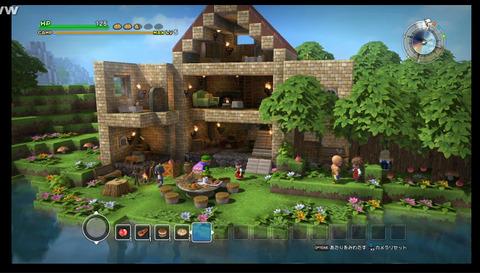 【癒やし】DQビルダーでシルバニアファミリーの家を建てました。