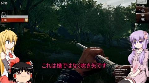【吹き矢最強説】ハンガーゲームを生き延びろ!