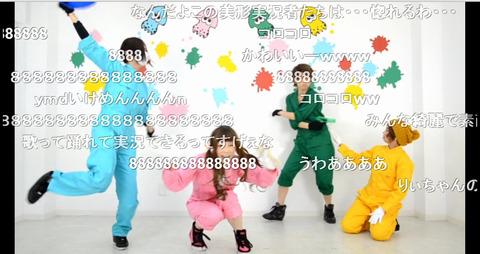 【ゆきりぃやまる】カッコかわいい女子4人組が「シオカラ節」をユルく踊ってみた【スプラトゥーン】