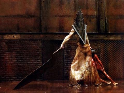 1位:『サイレントヒル』シリーズ(三角頭)