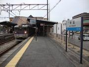 中庄駅ホーム