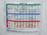 大沢二丁目時刻表