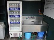 冷蔵庫と流し台