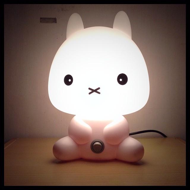 うさぎのランプが可愛いんだけどw