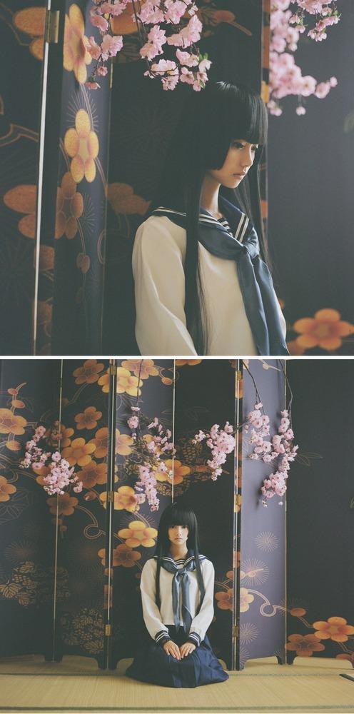 日本が誇る黒髪の少女